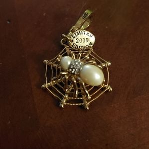 Limited edition Spider Charm